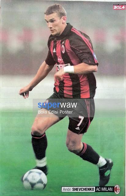 Poster Andriy Shevchenko (AC Milan)