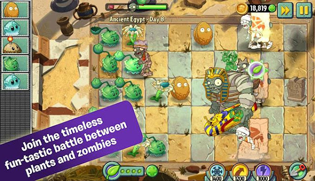 Plants vs Zombies 2 v4.6.1 MOD APK Full