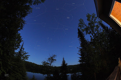 stars and constellations from the deck