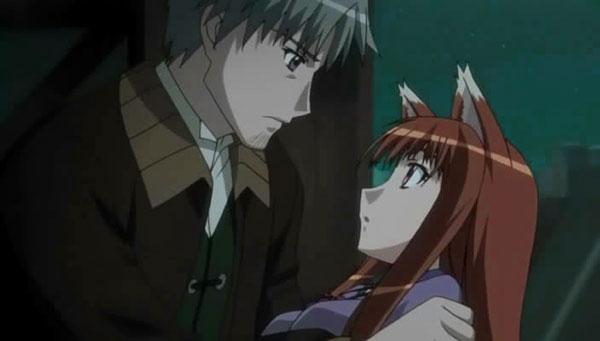 Ookami to Koushinryou - Anime romance terbaik lelaki tinggi perempuan pendek