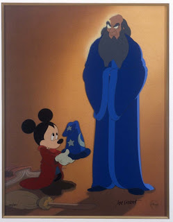 Sorceror Mickey Mouse Fantasia 1940 http://animatedfilmreviews.filminspector.com/2013/01/fantasia2000.html
