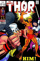 Thor #165 comic cover