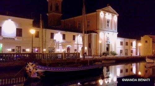 Cesenatico, centro storico e barche Museo Navale galleggiante