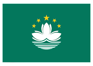 Macau flag Logo Vector