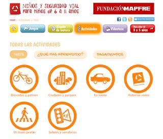 http://ninosyseguridadvial.com/actividades/