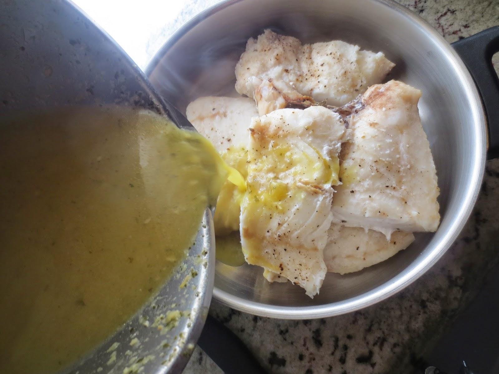 Merluza al vapor en salsa (O rebozada) Thermomix