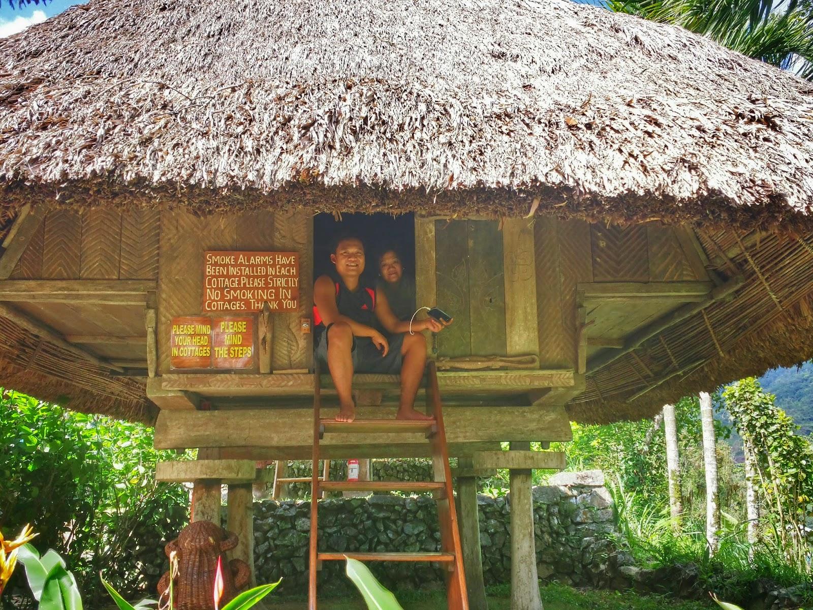 Native Village Inn Uhaj: Sleeping Inside a Native Ifugao ...