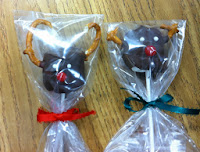 Chocolate Covered Marshmallow Reindeers