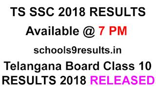 Schools9 TS 10th Class Results 2018