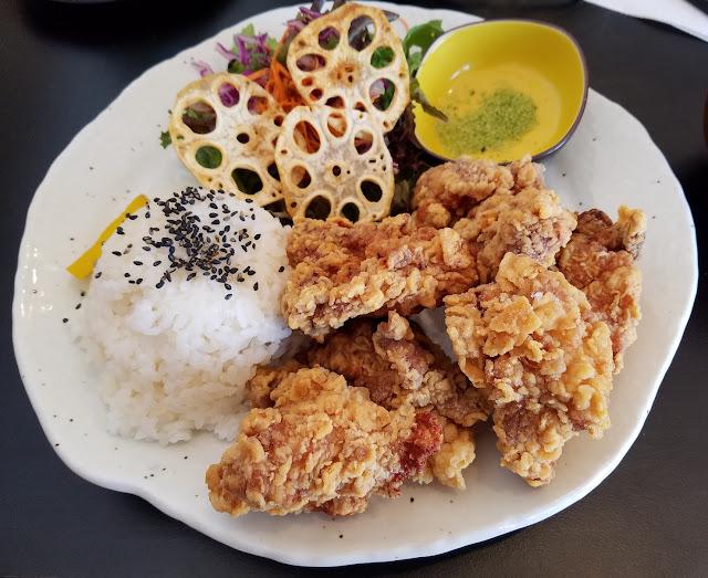 Chayo, Clayton, chicken teishoku