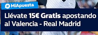 william hill promocion 10 euros Valencia vs Real Madrid 27 enero