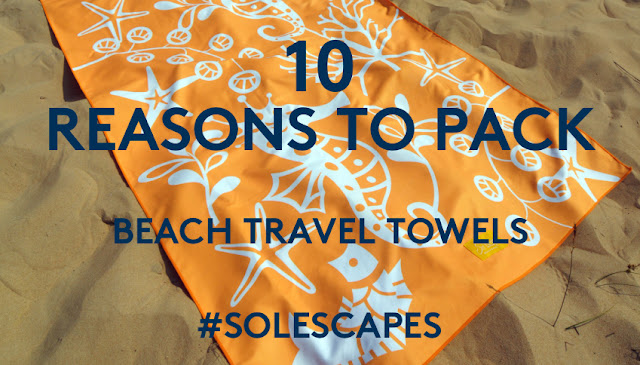 beach travel towels