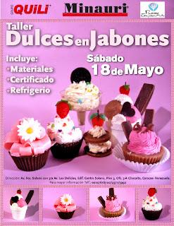 CURSO TALLER DULCES EN JABONES ARTESANALES - Rosa en Jabón Arte