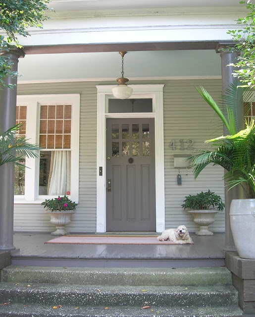 Brick House Front Door Color: Sure Fit Slipcovers: Choosing A Paint Color To Personalize