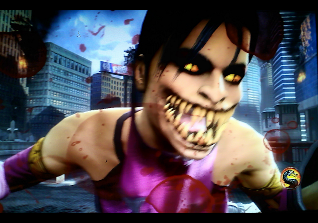 Mortal Kombat Mileena Unmasked