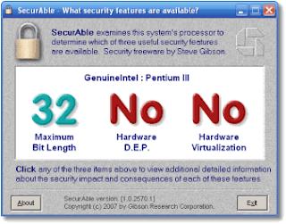 معرفة هل المعالج يقبل نظام 64 بت ام لا