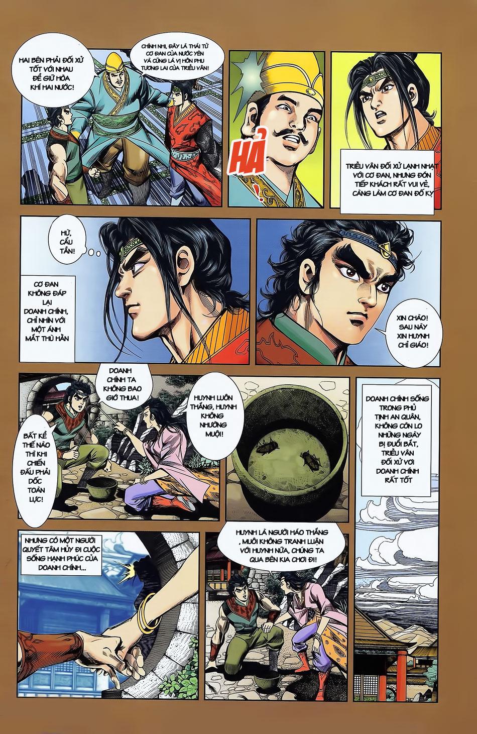 Tần Vương Doanh Chính chapter 2 trang 10