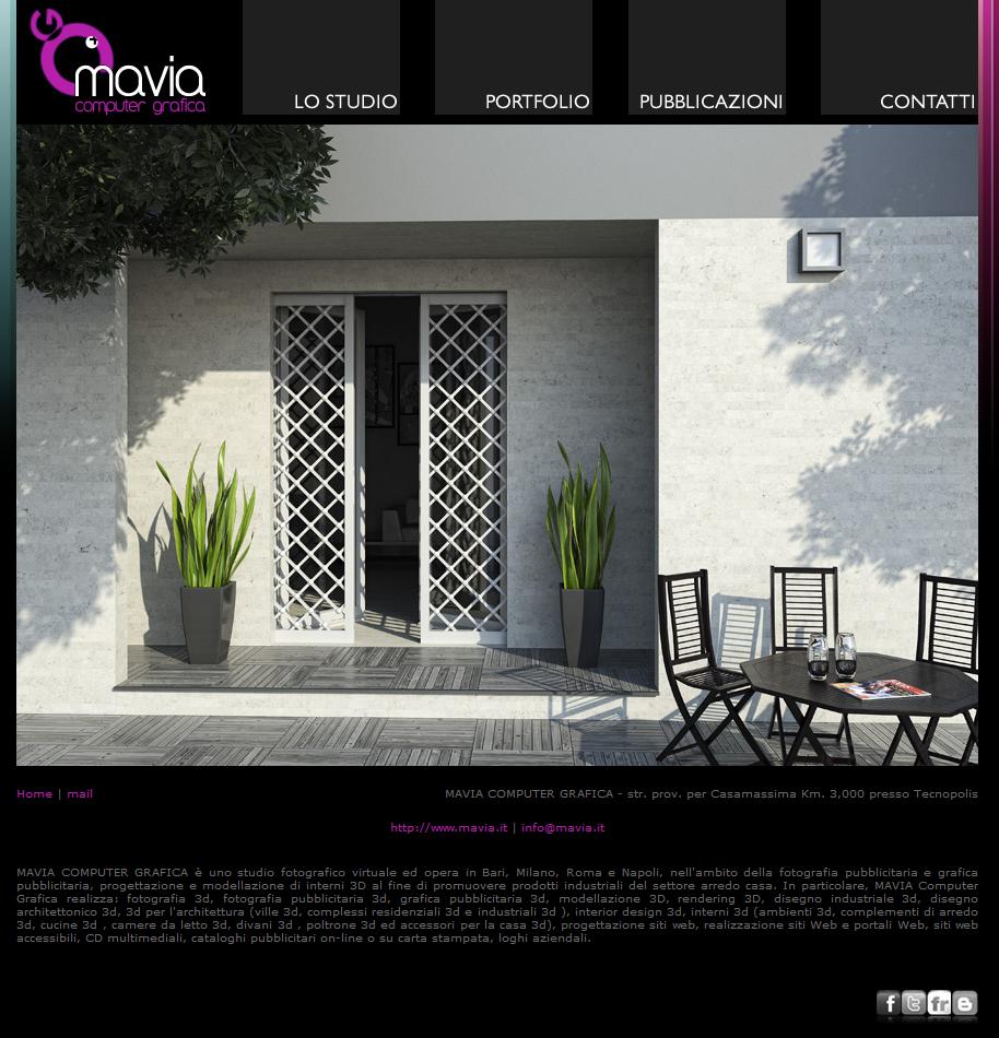 Arredamento di interni sito web 3d bari home page sito for Siti design interni