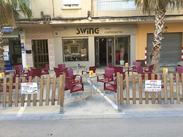 Swing bar cafetería