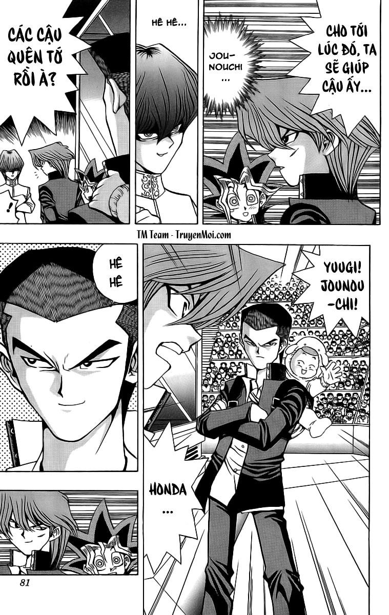 YUGI-OH! chap 28 - chiến trường đầu tiên trang 9