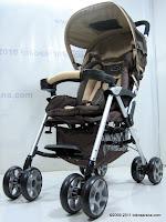 1 Pliko PK509 Cruz Buggy Baby Stroller with Alumunium Frame