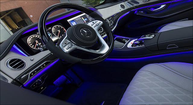 Đèn viền nội thất 64 màu Mercedes S450 L Luxury 2019 lôi cuốn và sang trọng