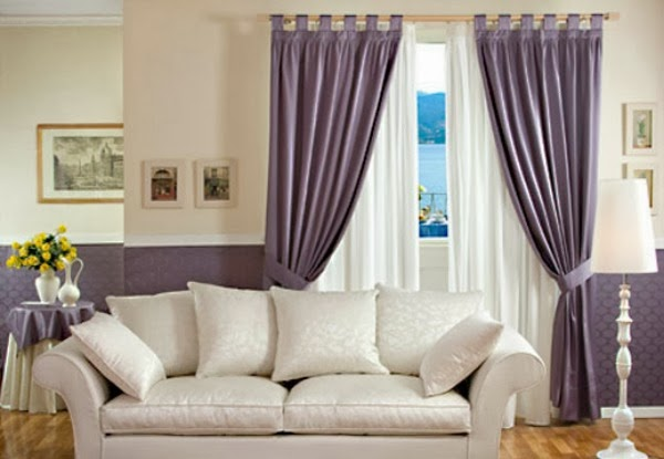 Consigli per la casa e l arredamento Montaggio tende idee per fissare al bastone tende