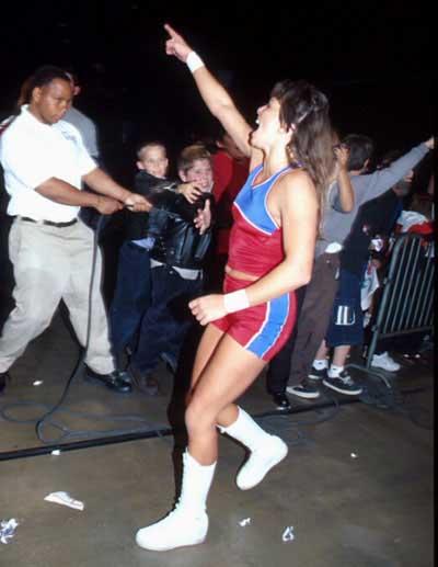 Female Wrestler - Bambi / Selina Majors
