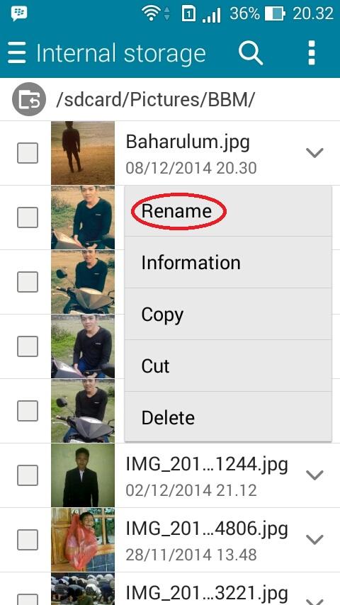 Cara Mengganti DP BBM Android Tanpa Crop