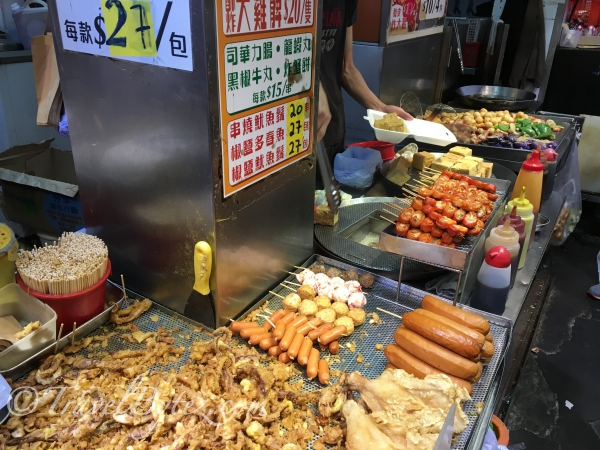 Fried Squid, Stinky Tofu and Fried Yong Tau Foo