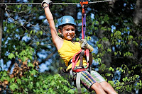 Kids love zipping in Pigeon Forge TN