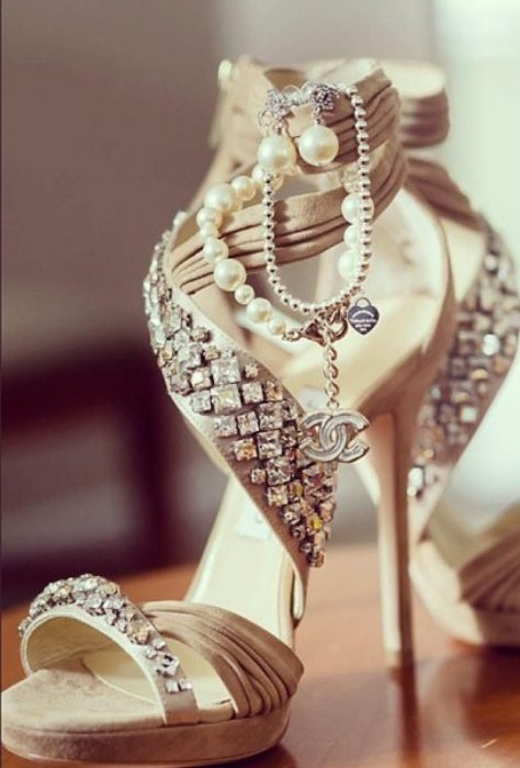 zapatos de novia hermosos