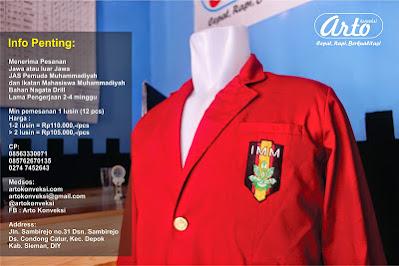 Jas Ikatan Mahasiswa Muhammadiyah