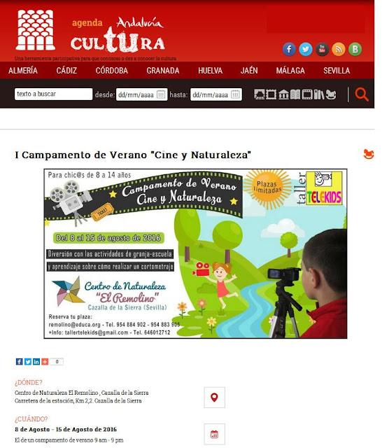 http://www.juntadeandalucia.es/cultura/agendaandaluciatucultura/evento/i-campamento-de-verano-cine-y-naturaleza