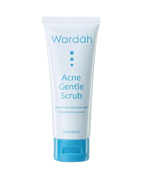 Review dan harga Wardah acne gentle scrub