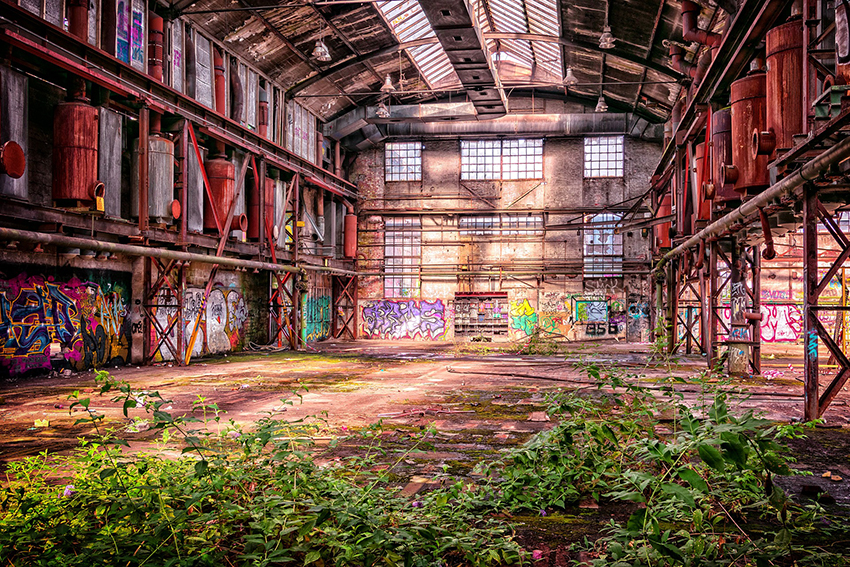 Lost Place Fabrikshalle
