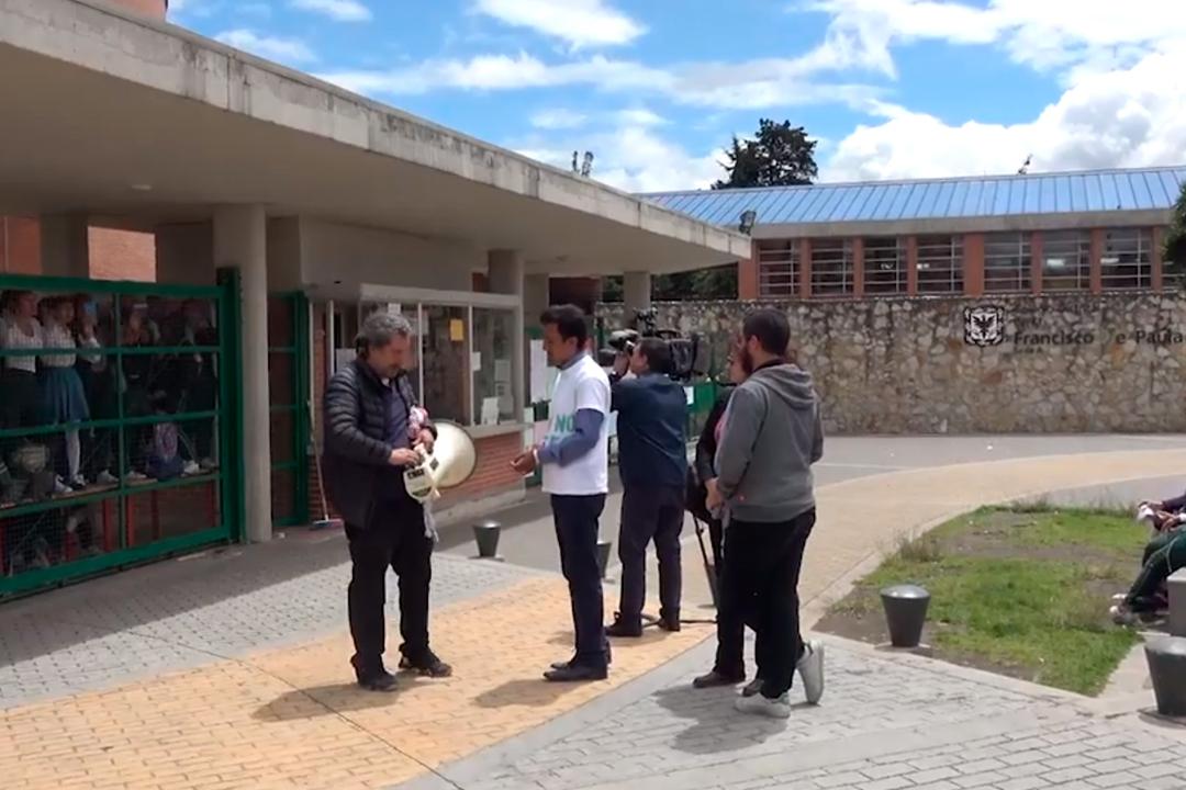 El INEM Francisco de Paula Santander se cae a pedazos y la Secretaría no responde