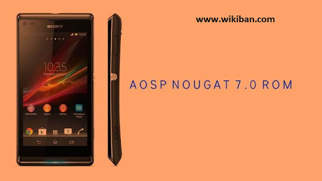 update xperia l to android 7 nougat