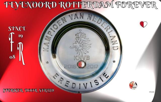 Wallpaper Feyenoord kampioen 2016 2017