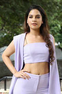 Tanya Hope in Crop top and Trousers Beautiful Pics at her Interview 13 7 2017 ~  Exclusive Celebrities Galleries 097.JPG