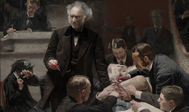 portrait of dr. samuel d. gross the gross clinic thomas eakins