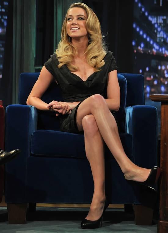 Inner Thigh Cellulite: Amber Heard Thigh