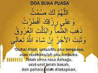 Doa Buka Puasa Ramadan yang Benar dan Artinya Lengkap