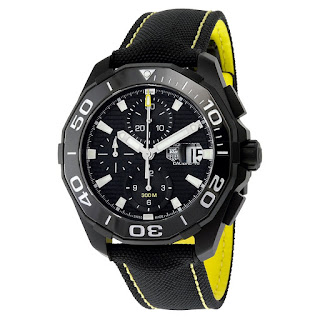 TAG HEUER Aquaracer Black Dial Auotomatic CAY218A.FC6361