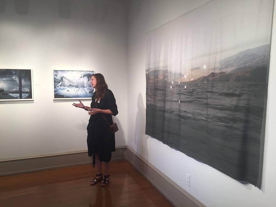 Julianna Foster Main Line Art Center Enlightened Earth Exhibit