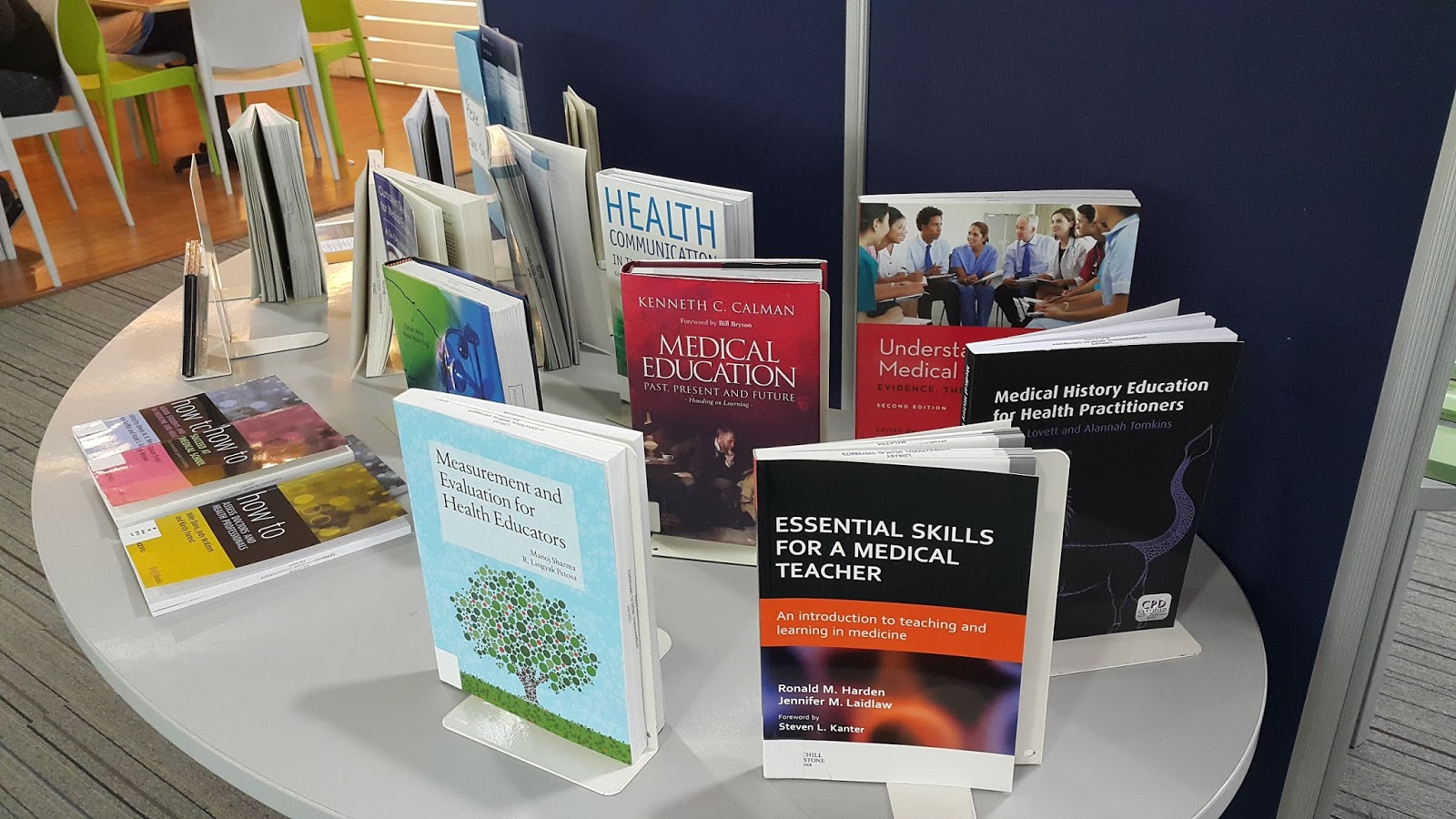 IMU Library Blog: Medical Education Books Exhibition