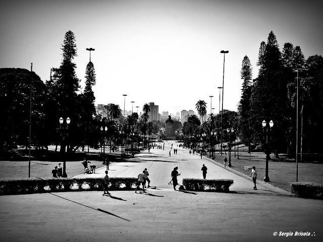 Vista Panorâmica do Parque da Independência - Bairro do Ipiranga - São Paulo