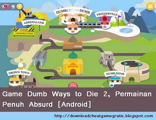 Game Dumb Ways to Die 2, Permainan Penuh Absurd [Android]