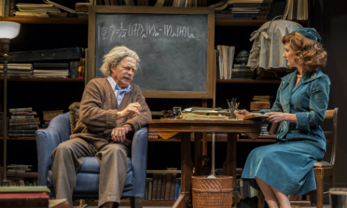 "Review of the play ""Relativity"" at Taproot Theatre."
