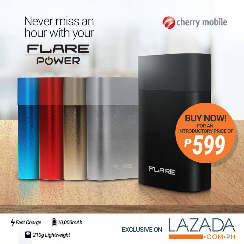Flare Power Battery Pack With 10000 mAh Announced, Priced At 599 Pesos!